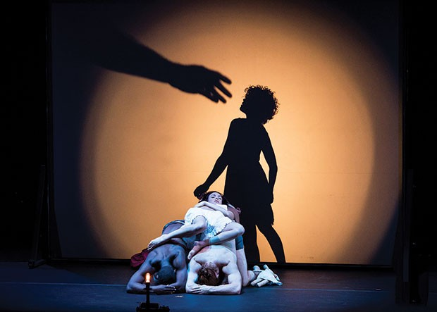 Pilobolus' Shadowland, Feb. 10 and 11 - PHOTO COURTESY OF IAN DOUGLAS