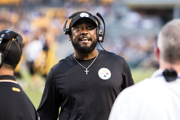 Mike Tomlin - CP PHOTO BY LUKE THOR TRAVIS