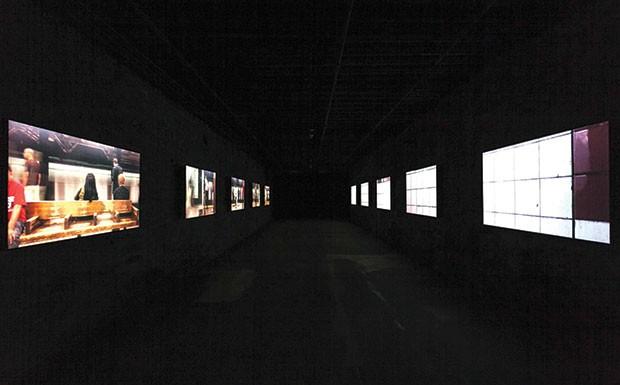 "Ezra Masch's video installation ""Stations"""