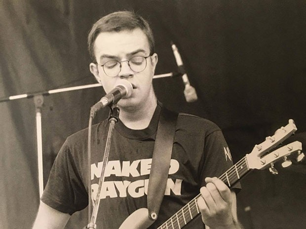 Karl Hendricks at Lollapalooza '93