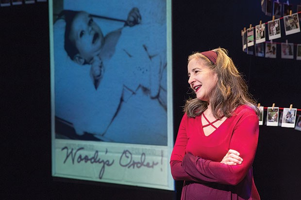 Ann Talman in Woody's Order, at The REP