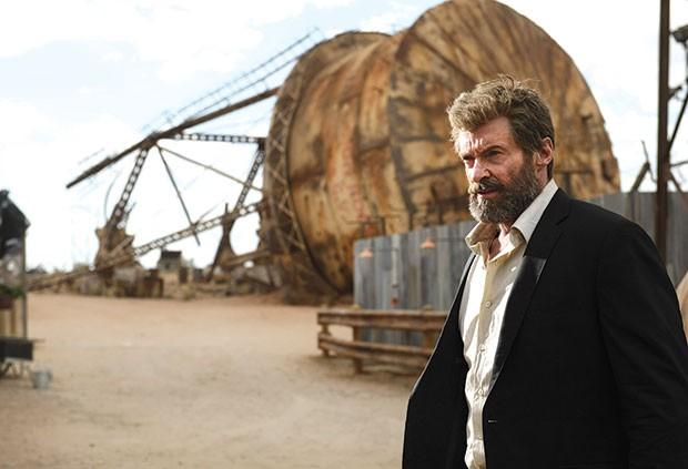 Logan (Hugh Jackman) is getting older.