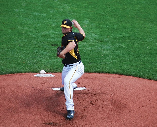 Fifth on the List: Gerrit Cole - CP PHOTO BY CHARLIE DEITCH