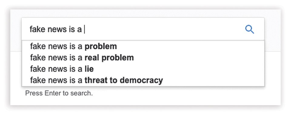 A Google.com query reveals what people are searching for.