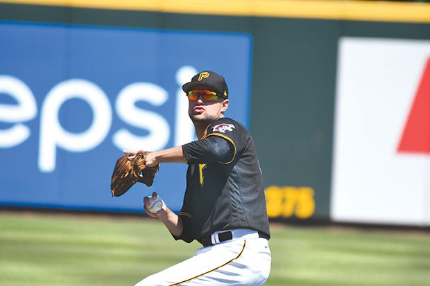 Top 5: Jordy Mercer - CP PHOTO BY CHARLIE DEITCH