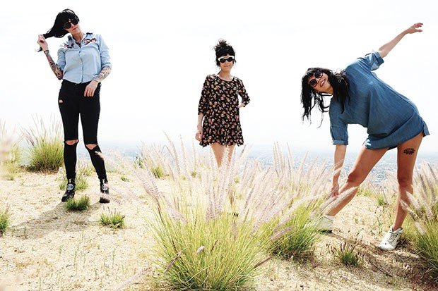 The Coathangers - PHOTO COURTESY OF JEFF FORNEY