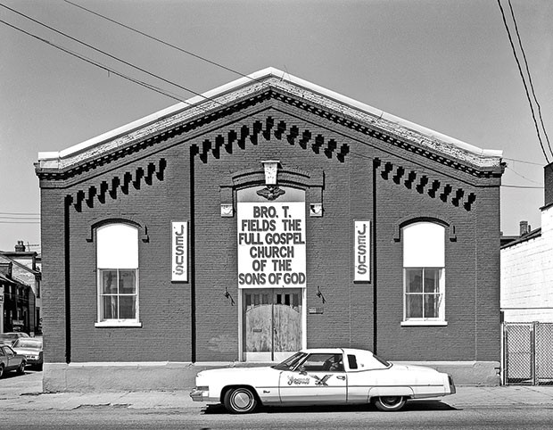 A North Side church, circa 1978-82, as photographed by David Aschkenas