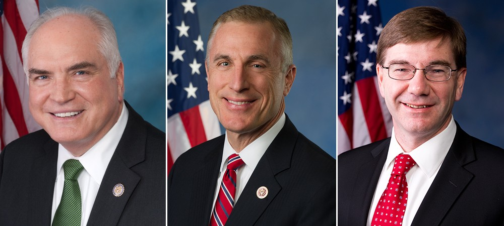 Mike Kelly (left), Tim Murphy (center), and Keith Rothfus (right)