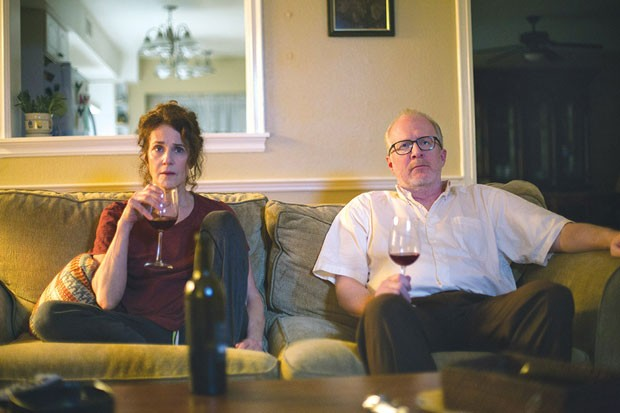 At home, and miserable: Debra Winger and Tracy Letts