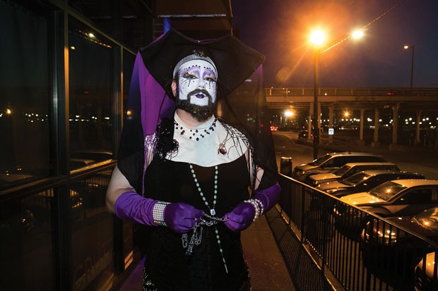 Sister Petra of Steel City Sisters - CP PHOTO BY JOHN COLOMBO