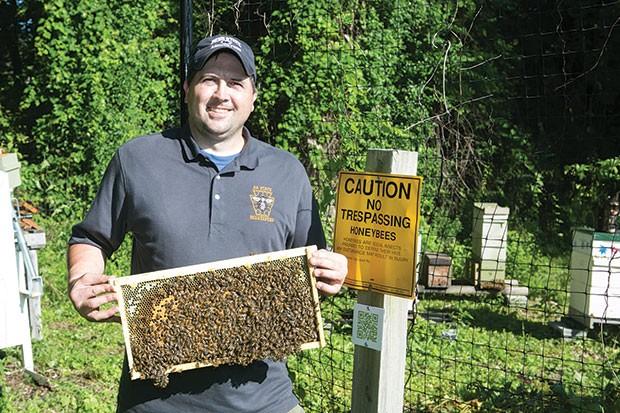 Burgh Bees President Stephen Repasky