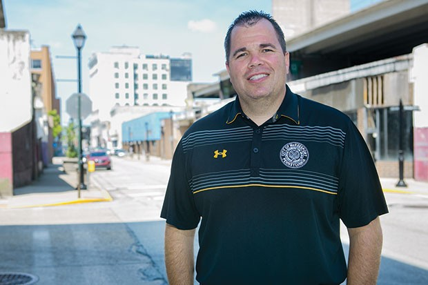 McKeesport Mayor Mike Cherepko - CP PHOTO BY JOHN COLOMBO