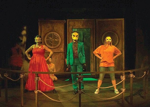 "A scene from act three of ""Mr. Burns — a post-electric play"" - PHOTO COURTESY OF HANK BULLINGTON"