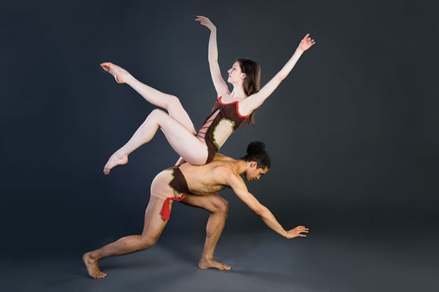 Texture Contemporary Ballet's Katie Miller and Alan Obuzor