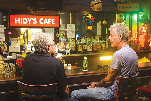 Anthony Bourdain - PHOTO COURTESY OF CNN