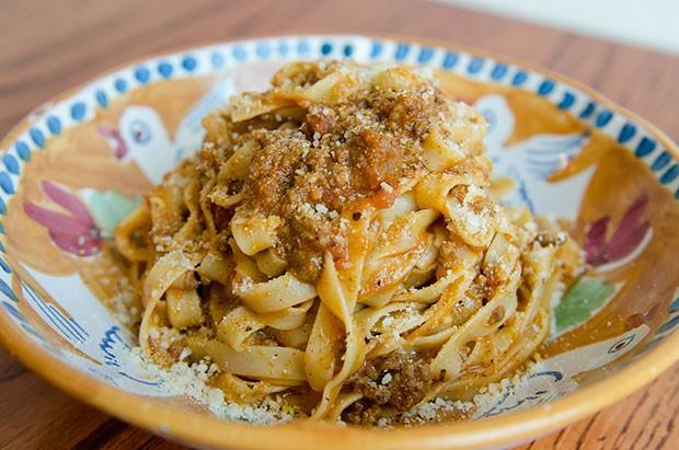 Tagliatelle Bolognese at DiAnoia's Eatery - PHOTO COURTESY OF AIMEE DIANDREA