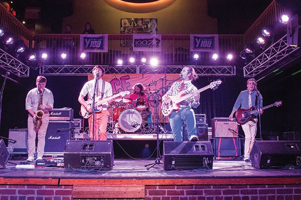 Chase and the Barons on stage at City Paper's Face the Music Battle of the Bands - CP PHOTO BY JAKE MYSLIWCZYK