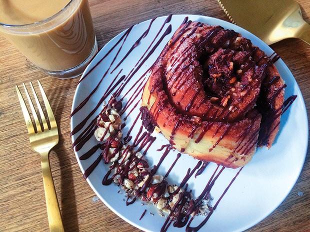 Vegan cinnamon rolls for chilly festive mornings - PHOTO COURTESY OF ABBIGAIL HANSEL