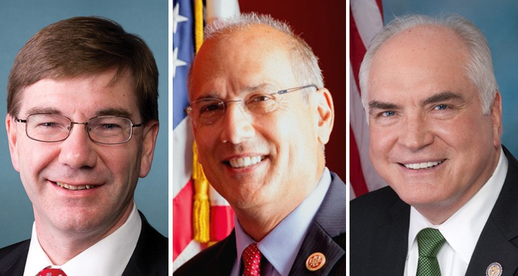 Keith Rothfus (left), Tom Marino (center) and Mike Kelly (right)