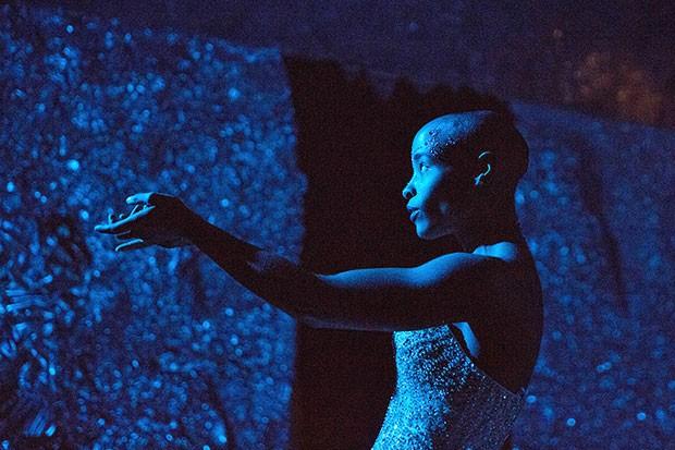 Jasmine Hearn in blue, sable, and burning - PHOTO COURTESY OF SCOTT SHAW