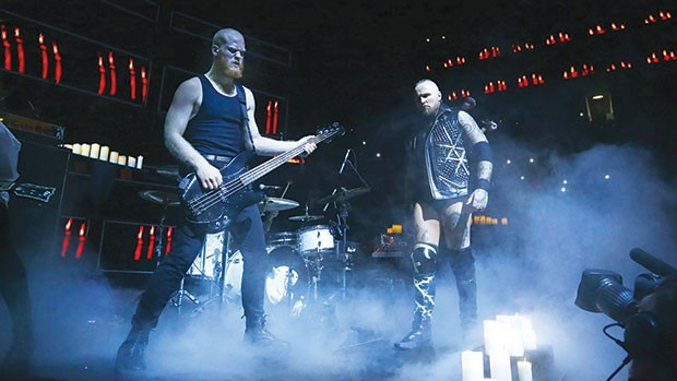 Code Orange at NXT Takeover - PHOTO COURTESY OF WWW.WWE.COM
