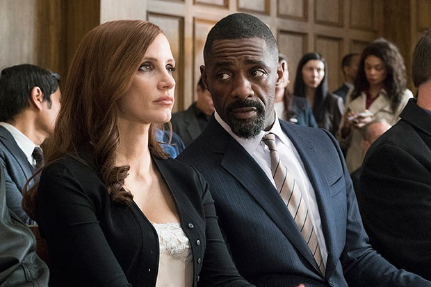 Jessica Chastain and Idris Elba