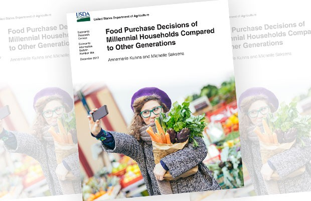 Front page of the USDA  report
