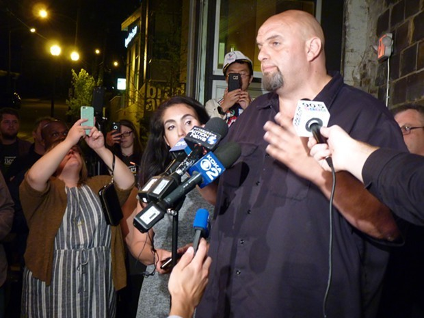 John Fetterman - CP PHOTO BY RYAN DETO