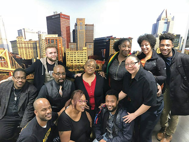 Members of Pittsburgh Black Pride - PHOTO COURTESY OF PITTSBURGH BLACK PRIDE