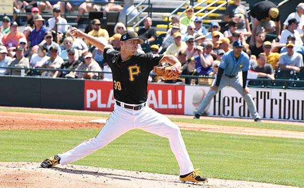 Pittsburgh Pirates pitcher Chad Kuhl - CP PHOTO BY CHARLIE DEITCH