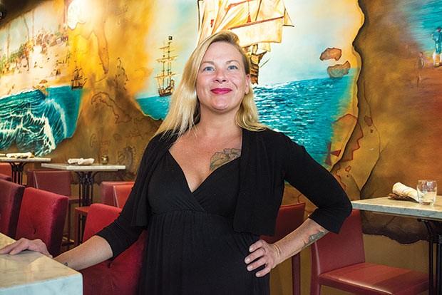 Pirata Caribbean Cuisine x Rum Bar bartenderLissa Brennan - CP PHOTO BY JAKE MYSLIWCZYK