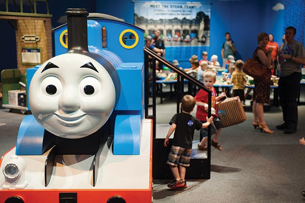Thomas & Friends: Explore the Rails - PHOTO COURTESY OF MINNESOTA CHILDREN'S MUSEUM