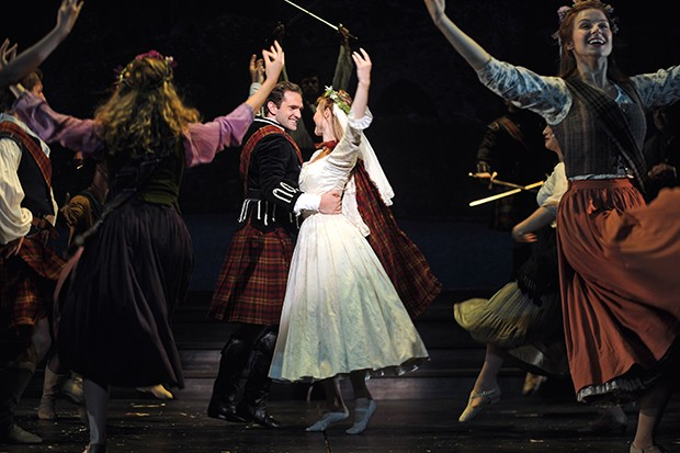 Dan Deluca and Deanna Doyle in Brigadoon - PHOTO COURTESY OF MATT POLK