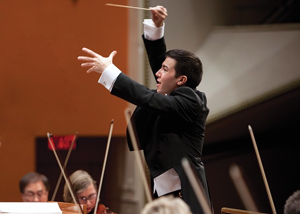 Francesco Lecce-Chong in concert with Pittsburgh Symphony Orchestra - PHOTO COURTESY OF TIM EVANS