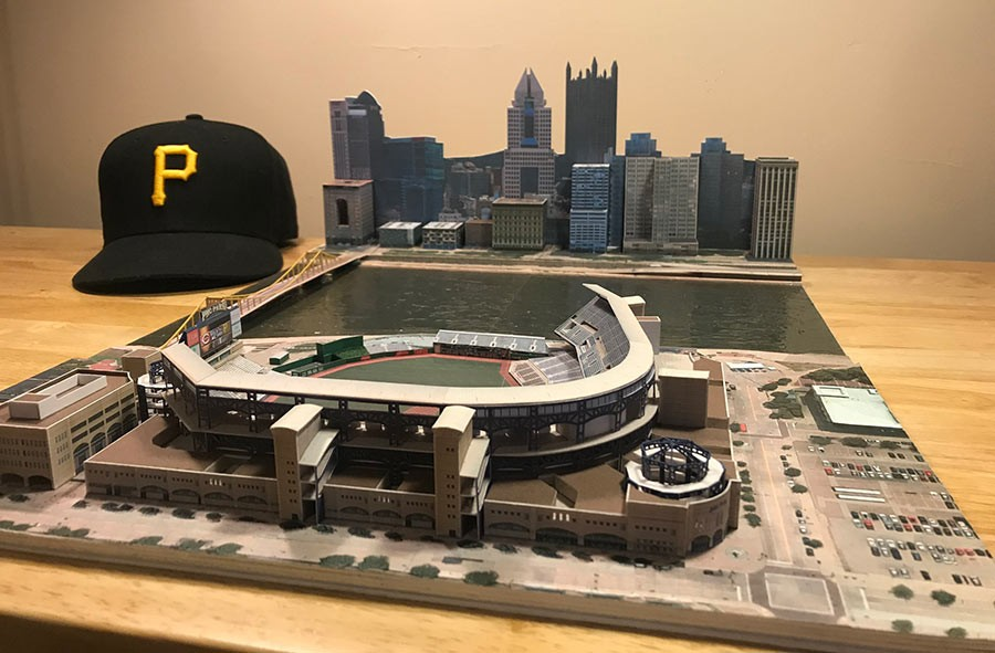 David Resnik's PNC Park model - PHOTO COURTESY OF DAVID RESNIK
