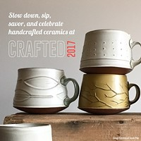 CRAFTED: Mugs, Cups, & Tumblers