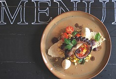 Menuette's pop-up dinners are inspired by, and mimic, musical composition