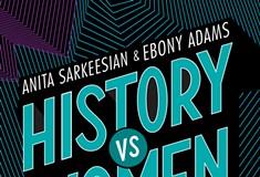 Authors Anita Sarkeesian and Ebony Adams speak at Carnegie Lecture Hall on Oct. 3