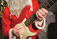 What are Pittsburgh musicians' favorite ways to spend the holidays?