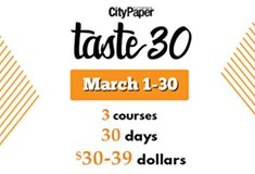 Taste30 presented by Pittsburgh City Paper