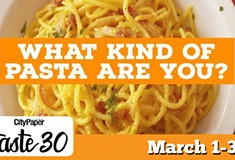 Taste30 Presents: What Pasta Type Are You?