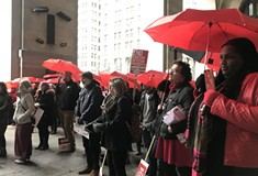 Pittsburgh women strike for gender equality and a voice for women of all backgrounds