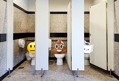 The horrors of the office bathroom