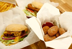 Looking for delicious vegan fast food? Fugget up at crumb.
