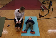 Open Up helps people with disabilities access art and wellness through inclusive yoga classes