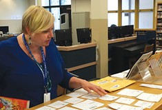 Perry High School librarian heads to the Internet to get her students the books they want to read