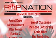 Johnny Wright Presents PopNation Summer Tour 2015 ft Round2Crew and Sweet Suspense