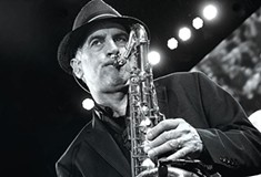 Career saxophonist and Bruce Springsteen band member Eddie Manion celebrates a new solo record at the Strand Theater