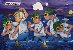 Hebru Brantley's Pittsburgh debut is a hopeful and haunting commentary on our times