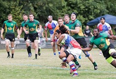 A photo slideshow of the Pittsburgh Harlequins rugby match against the Baltimore-Chesapeake Brumbies